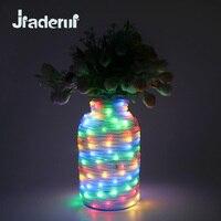 Jiaderuiノベルティカラフルなチューブホリデー防水ライト10メートル72 ledsフィート妖精ランプ文字列ガーデンクリスマス装飾照明ランプ