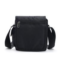 Barhee высокое качество малый Для мужчин сумка Оксфорд Ткань чехол дизайнер Повседневное Сумки на плечо Pochette SAC основной черный портфель