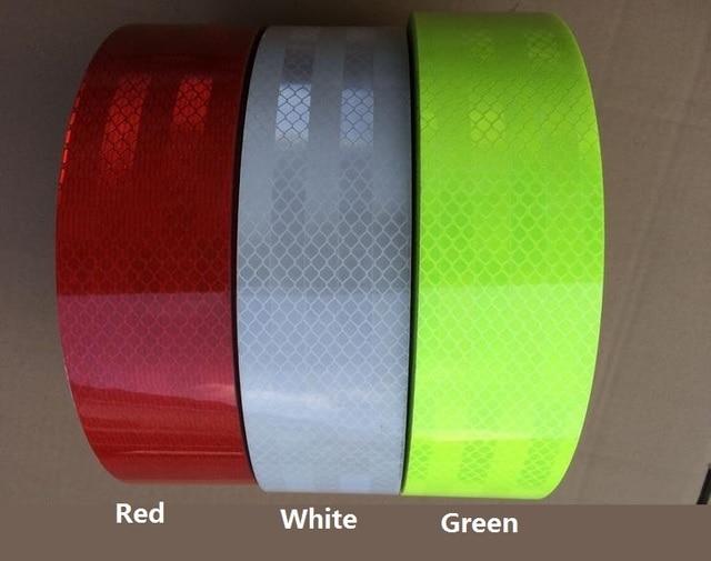 High visibility  DIY Fluorescent Reflective Sticker Automobile luminous strip Car motorcycle Decoration Sticker reflective tape