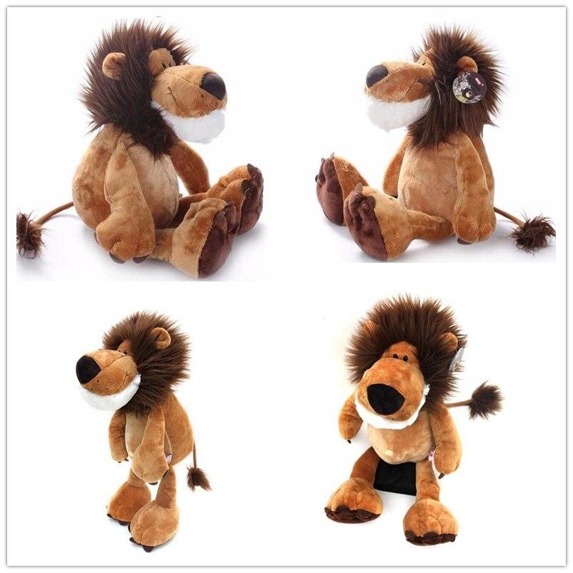 1pcs 10 25cm Popular Lion Stuffed Doll Plush Jungle Series Animal TOYS Kids Toys1pcs 10 25cm Popular Lion Stuffed Doll Plush Jungle Series Animal TOYS Kids Toys