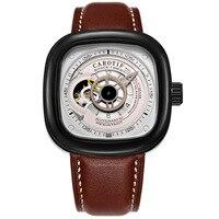 고품질 뚜르 비옹 남자 시계 톱 브랜드 럭셔리 스퀘어 비즈니스 시계 남자 자동 기계식 손목 시계 montre homme-에서기계식 시계부터 시계 의