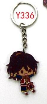 1 Pc Black Butler Acrílico Keychain Bag Pingente Chaveiro Acessórios Chave Do Carro Japonês Dos Desenhos Animados Figura Toy