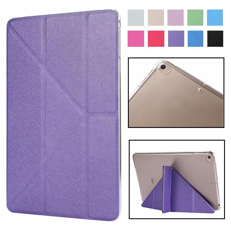 Flip Case For IPad Mini 5 Case,PU Leather Ultra Slim+Transparent Plastic Back Smart Cover For Ipad Mini 5 7.9 Inch 2019 Case