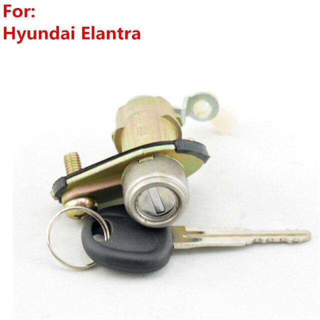 xieaili oem trunk lock cylinder auto door lock cylinder for hyundai elantra with 1pcs key m121