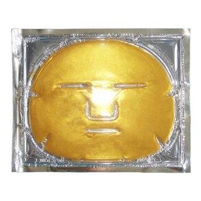 10pcs lot Neutral Packing Pure Collagen Golden Facial Mask Natural Face Mask Golden Collagen Face Mask