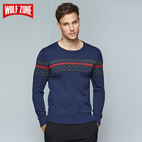 Limited Knitted Sweater for Men Winter Business Casual Dress Brand Clothing O neck Long Sleeve Pullovers Mens Sweaters Pullover