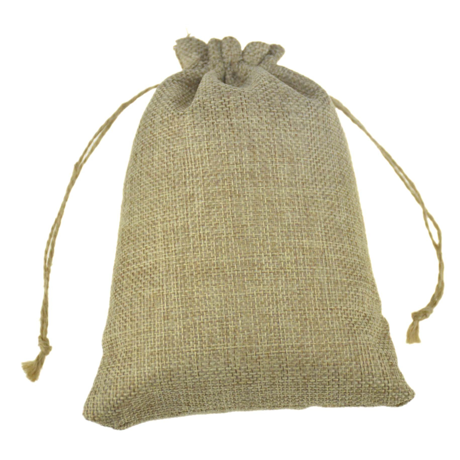 Handmade Hessian Jute Burlap Drawstring Packaging Bags For Jewelry Pouch Soap Wedding Favor Coffee Bean Sacks 1000pcs 13x18cm In Storage From Home