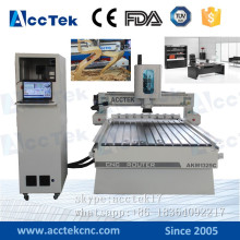 High precision cnc router auto tool change 1325, cnc wood furniture machine