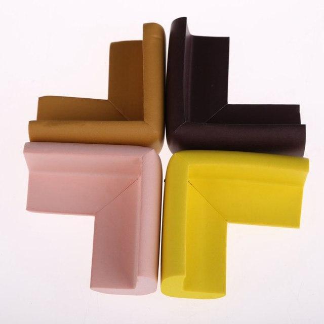 10Pcs Kids Baby Soft Safety Table Corner Edge Guard Protection Cover Children Multicolor U Shape Mini Stripe Corner Random Color 6