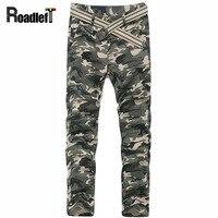 2015 New Men Fashion Camouflage Sarouel Harem Pants Mens Casual Skinny Camo Joggers Bandana Sweatpants Cotton