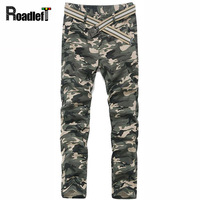 2015 New Men Fashion Camouflage Sarouel Harem Pants Mens Casual Skinny Camo Joggers Bandana Sweatpants Cotton