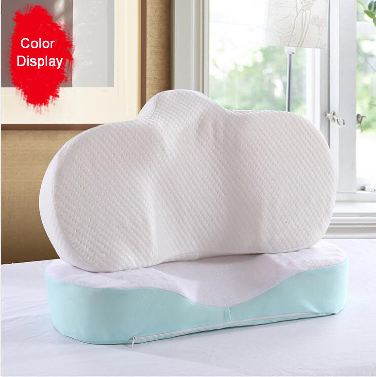 Anti Wrinkle Memory Pillow Ergonomic Curve Foam Improve Sleeping Perfect Pillows