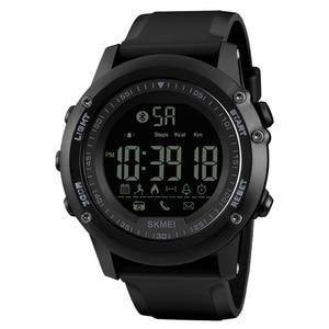 Image 1 - SKMEI Marca Eletrônica Do Bluetooth Relógios para Homens Sports relógios de Pulso Digitais APLICATIVO Lembrar Rastreador De Fitness Assista Relogio masculino