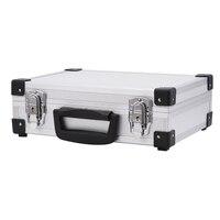 ortable aluminum alloy tool box file storage box anti shock equipment instrument box with lock