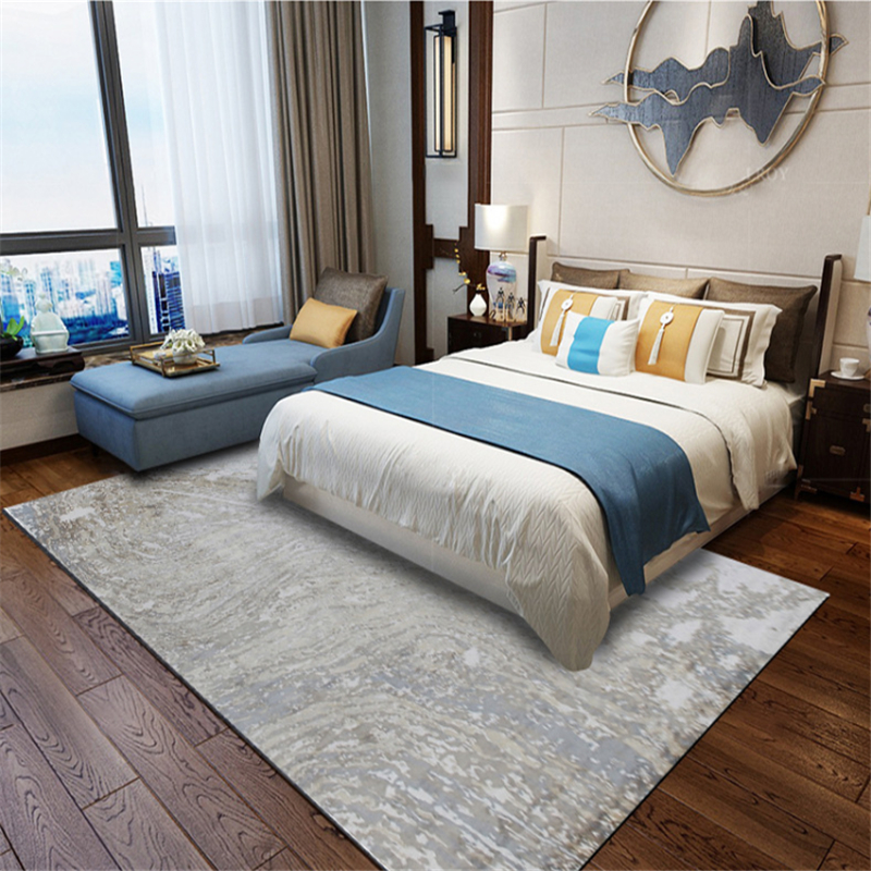 AOVOLL Fashion Europe And America Modern Abstract Cement Gray Pattern Carpet Carpets For Living Room Carpet Kids Room Mats
