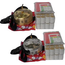 New health beauty tool moxibustion stainless steel copper box high quality Moxa roller set