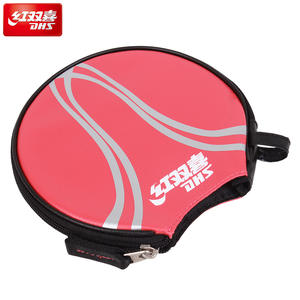 a7b40c9ab148 DHS Table Tennis Bag for 1 Rackets waterproof Ping Pong Case