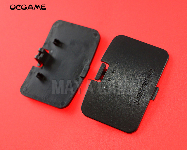 OCGAME Black For N64 Memory 64 Expansion Pak Cover Door Jumper Lid 20pcs Lot