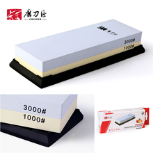 ФОТО TAIDEA double Side 1000/3000 Grit Professional Knife Sharpener Sharpening Grinding Stone Whetstone T6310W