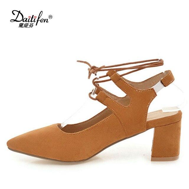 pXqcXTfr la Chaussures à cheville et Fashion à talons bride élégant élégant Daitifen et qE17n0x