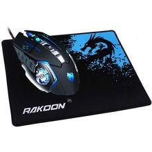 Reejoyan rakoon игровой коврик для мыши фиксирующий край Премиум