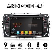 Bosion Android Quad core car dvd for Ford Focus Galaxy Mondeo S max car radio stereo multimedia player free canbus