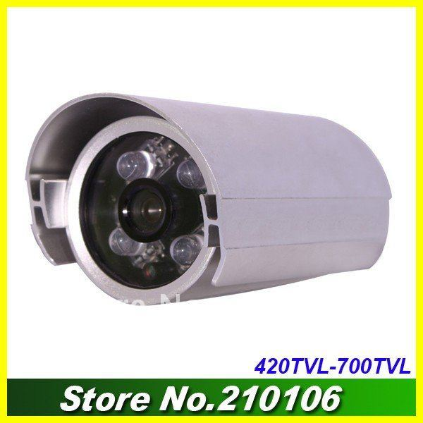 Free shipping sony CCD 36 IR night vision Video security camera (#A610)