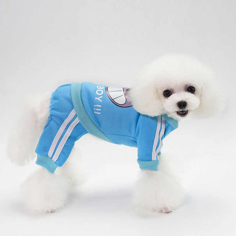 99781b226a94 2018 Sport Cat Clothes Pet Clothing Puppy Dog Cat Hoodie Sweater Warm  Sweatshirt Hello Boy Warm