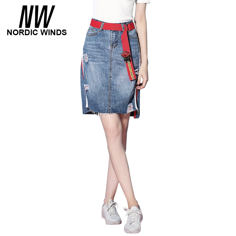 Online Get Cheap Jean Skirts Knee Length -Aliexpress.com | Alibaba ...