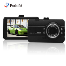 Podofo Videocamera per auto Dvr Dashcam FH07 Video Recorder Registrator Full HD 1080 P WDR G-Sensore di Visione Notturna Dash Cam dvr del Precipitare Della Macchina Fotografica