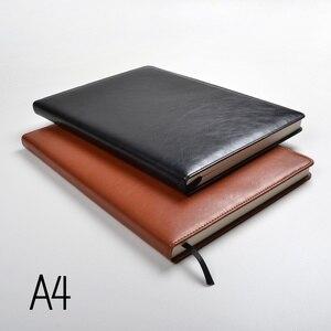 Image 2 - Bloc notes A4, papier doublé, 100 feuilles, 200pages, agenda, agenda, organisateur, journal, papeterie, fournitures de bureau