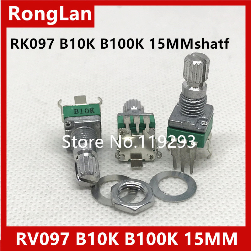 [BELLA]Shelf units aristocratic precision adjustable potentiometer R09 Vertical clubfoot single joint B10K B100K-15 rachis--50P