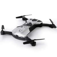 New Foldable Mini Selfie Drone Folding Aerial Four axis Aircraft WIFI phone Control RC Helicopter Drone 2017