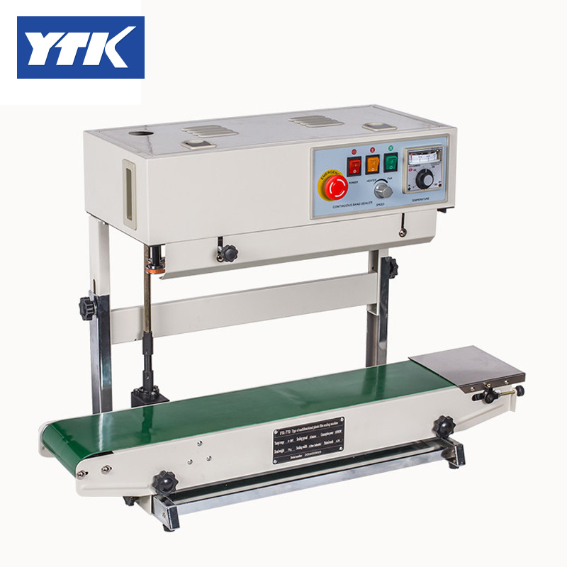 YTK FR-770 Automatic Vertical Bag Sealing Packing Machine Stainless Steel