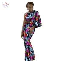 African Dresses For Women Sexy Club Dashiki Women Bazin Riche Long Cotton Dress Traditional Plus Size