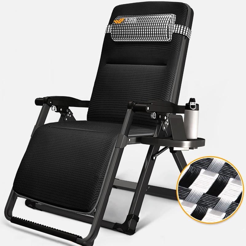 Padded Folding Nap Recliner Zero Gravity Lounge Chair