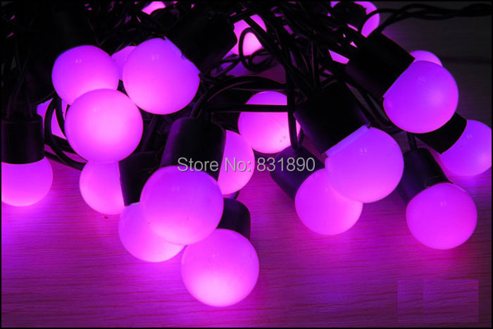 Image 4 - Free shipping220V Christmas LED string lights10m 100leds Garland LED bulbs string lights Waterproof string light Wedding lights-in LED String from Lights & Lighting