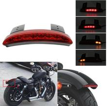 Motorcycle Mudguard Mud Guard LED Tail Light Fender Tailight Red Shell Mudapron Lamp Mudflap Rear Back