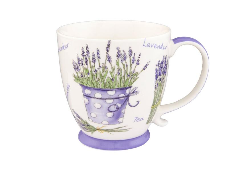 Mug Elan Gallery, Lavender, 450 ml available from 10 11 set of salad bowls 2 ave 16 16 7 cm 790 ml white lace elan gallery 540159
