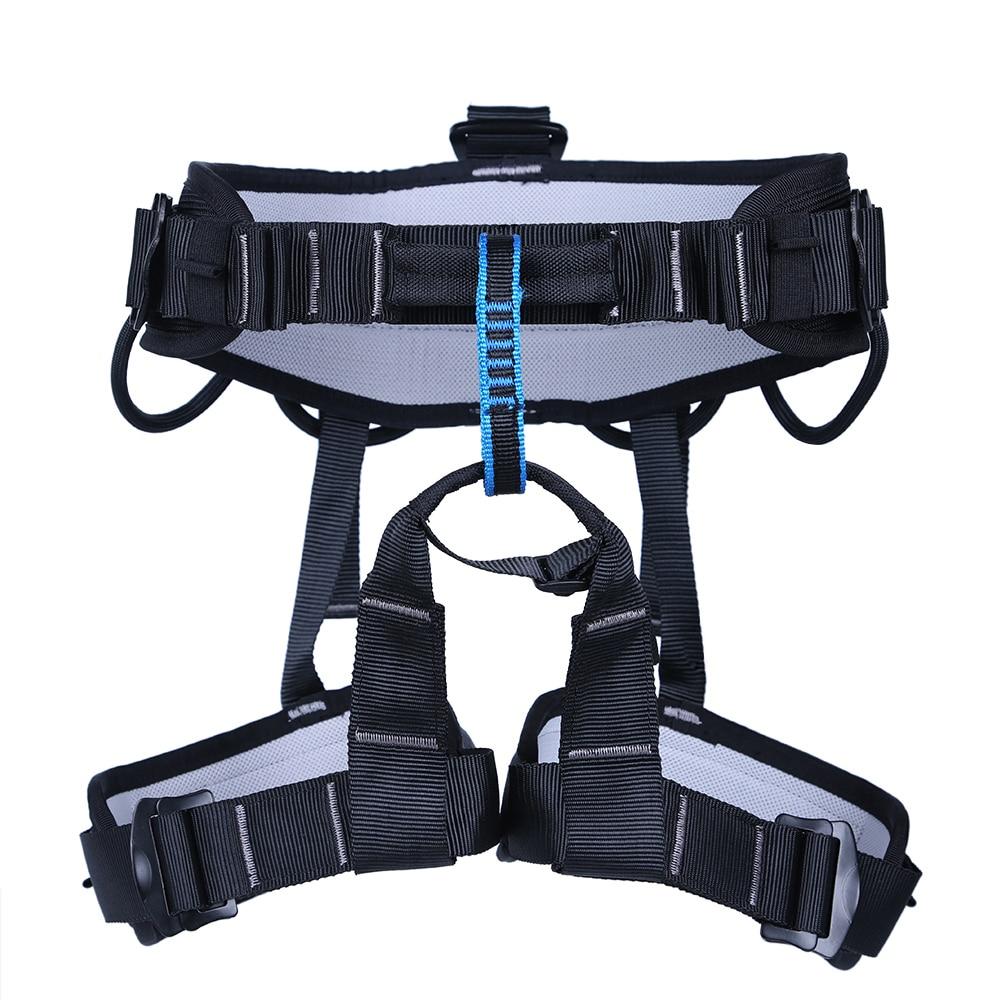Outdoor Sports Rock Climbing Harness Waist Support Half Body Safety Belt