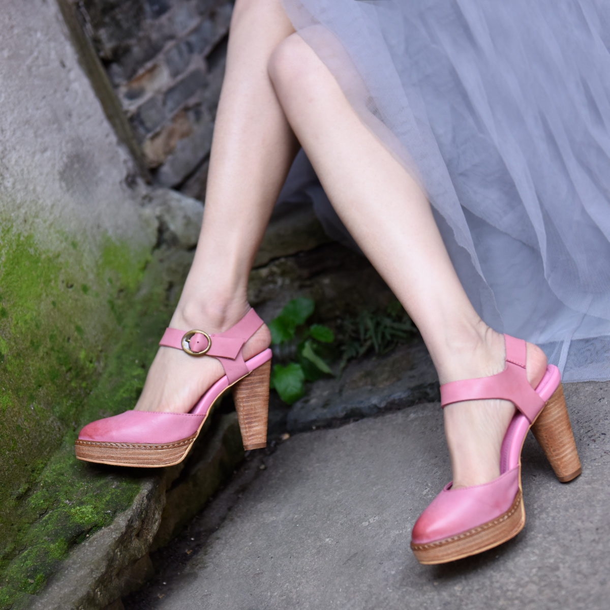 Artmu Original Super High Heels Pumps Women Sandals Closed Toe 9 5cm Heels Handmade Genuine Leather