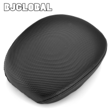 BJGLOBAL Rear Cushion Seat Passenger Pillion Pad for Harley-Davidson Iron 883 Forty Eight XL1200X 1200 XR1200  Sportster 883 5 models motorcycle black passenger rear seat pad leather pillow for harley sportster xl 1200 883 72 48 forty eight 2010 2015