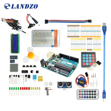 Starter Kit para arduino uno R3 de Arduino 9G Servidor/arduino sensor/1602 LCD/Cable de puente/UNO R3/Resistencia