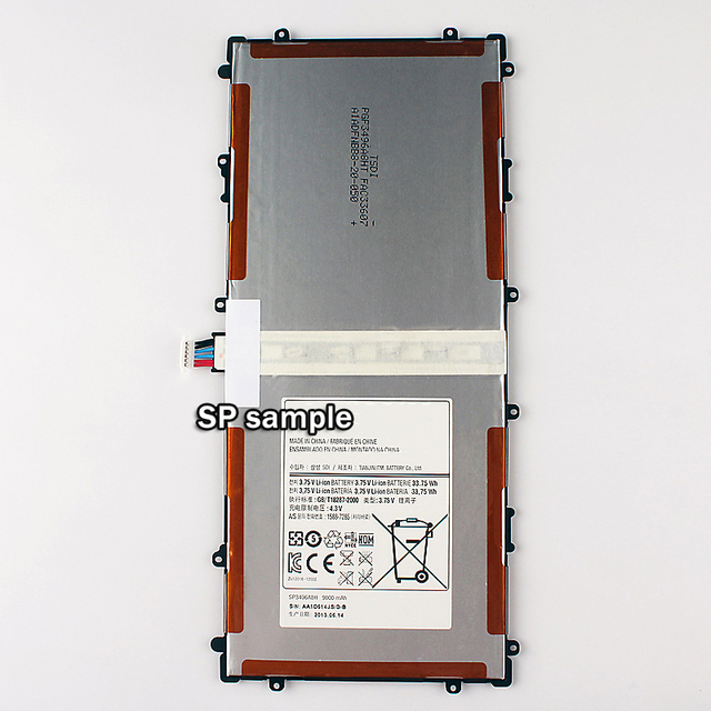 New Replacement Mobile Phone Battery SP3496A8H for Samsung Google Nexus 10 GT-P8110 HA32ARB 9000mAh