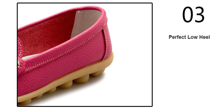 XY 918-2019 Genuine Leather Spring Autumn Women Loafers -22
