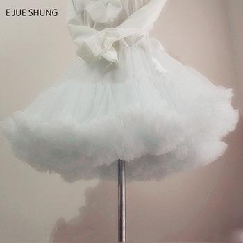 E JUE SHUNG suknia balowa krótki typu swing sukienka halka lolita cosplay halka baletowa spódniczka tutu spódnica Rockabilly krynolina tanie i dobre opinie CN (pochodzenie) Poliester Kiecka Przędzy barwionej Dla dorosłych