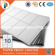 80 листов совместимый L7173/J8173 пустая матовая белая этикетка/печатная бумага для струйного принтера А4 Этикетка Размер: 99,1X57 мм