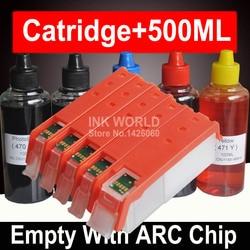 Dla Canon ip7240 ip 7240 wkład atramentowy wielokrotnego napełniania kartridż do canona Pixma ip7240 ip 7240 ze stałym Chip PGI450