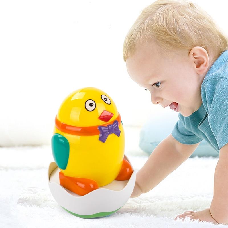 Baby Mobile Rattle Ойыншықтары Funny Duck Musical Tumbler - Балаларға арналған ойыншықтар - фото 2