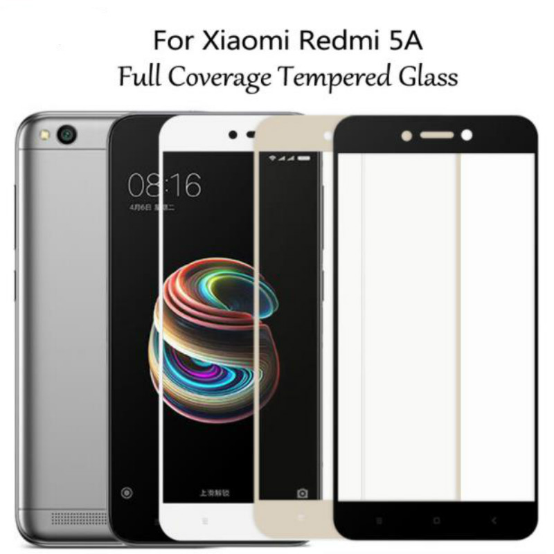 Dreamysow Full Cover Tempered Glass For Xiaomi Mi A1 5X 5 Mi5 S Mi5s Plus Mi5x Redmi Note 5 Pro Plus Note 5A Y1 Lite Glass Film